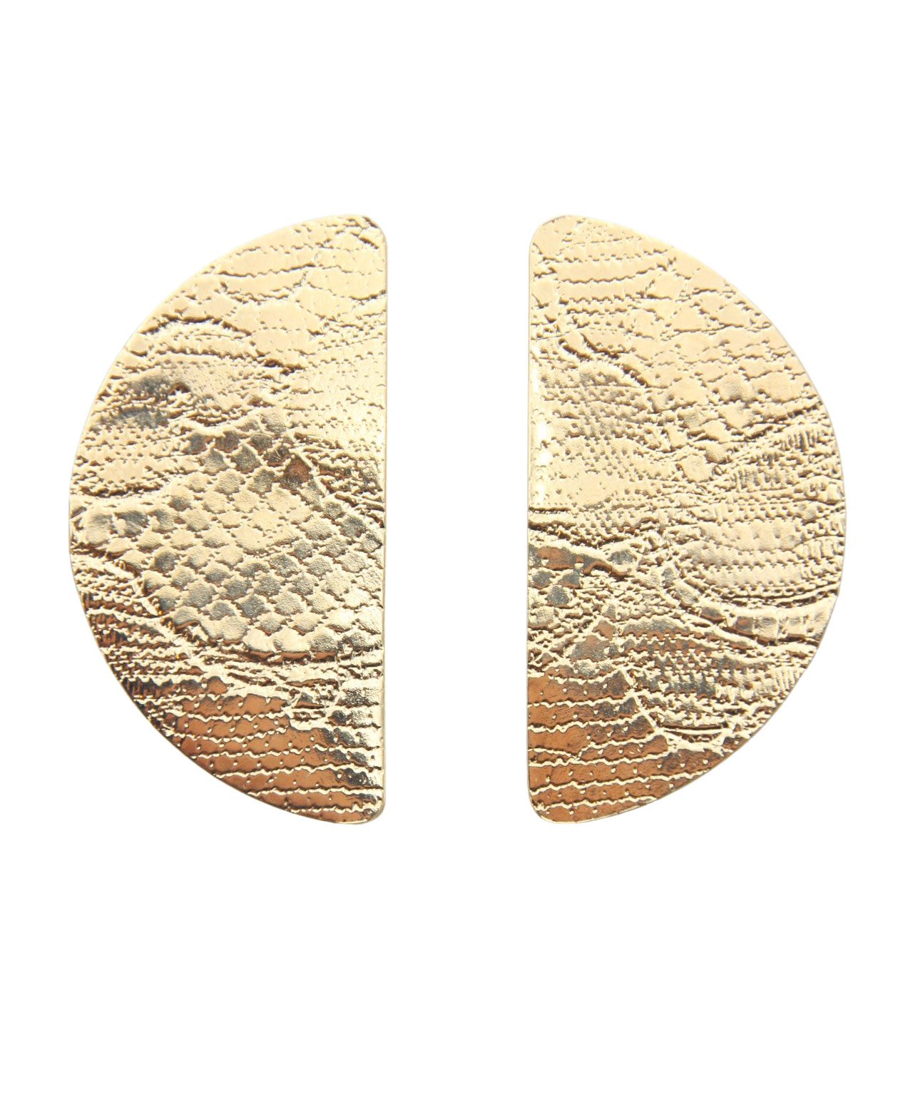 boucles d oreilles femme originales motif dentelle or fin leonie et france